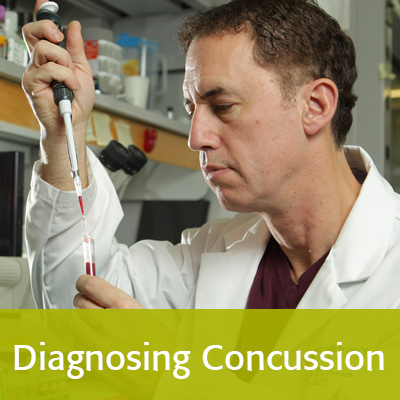 Diagnosing concussion