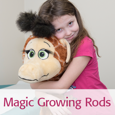 Magic growing rods