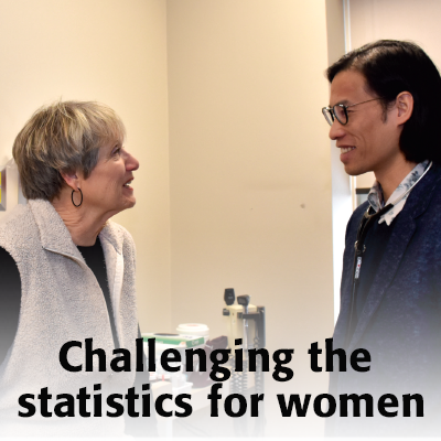 Challenging the statistics for women