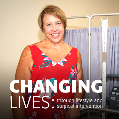Changing lives through lifestyle and surgical intervention