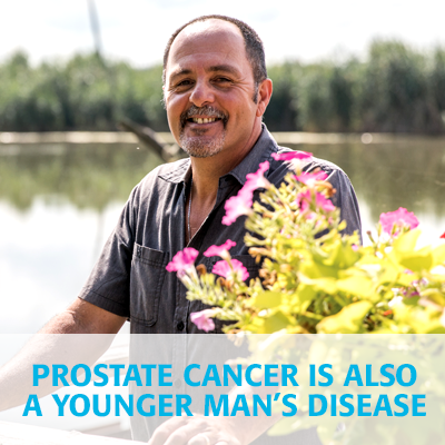 Prostate cancer is also a younger man's disease