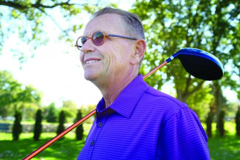 Herb Hunter is enjoying an improved quality of life, after hip replacement surgery drastically improved his mobility.