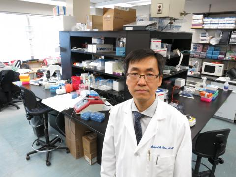 Dr. Richard Kim is making discoveries in the lab that have a real-life saving impact for patients