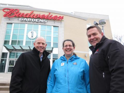 •Dr. Robert Litchfield, Dr. Tatiana Jevremovic and Steve DiCiacca are three of the many Fowler Kennedy team members who will be volunteering at the ISU World Figure Skating Championships®