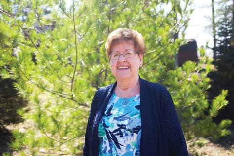Patient Margaret Greene has benefitted from personalized medicine, at LHSC's Personalized Medicine Clinic.
